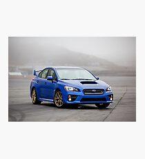 Subaru wrx sti Fotodruck