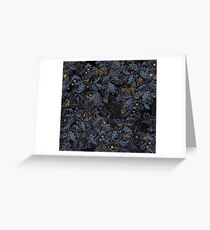 Fit In (moonlight blue) Greeting Card