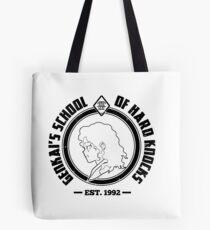 Genkai's School of Hard Knocks | Black and White Tote Bag