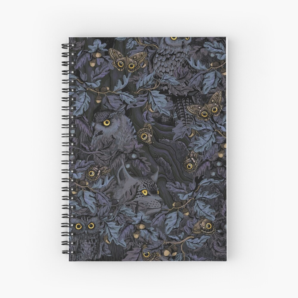 Fit In (moonlight blue) Spiral Notebook