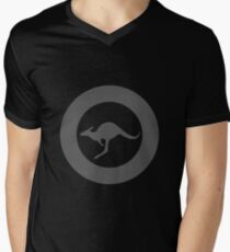 Royal Australian Air Force - Roundel low visibility Men's V-Neck T-Shirt