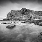 Findlater Castle by Roddy Atkinson