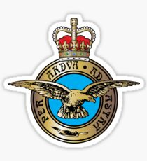 Royal Air Force Badge Sticker