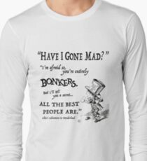 Alice in Wonderland Quote T-Shirt