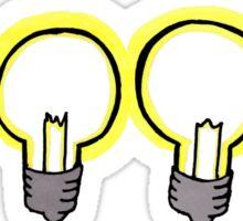 twenty one pilots - lightbulbs Sticker