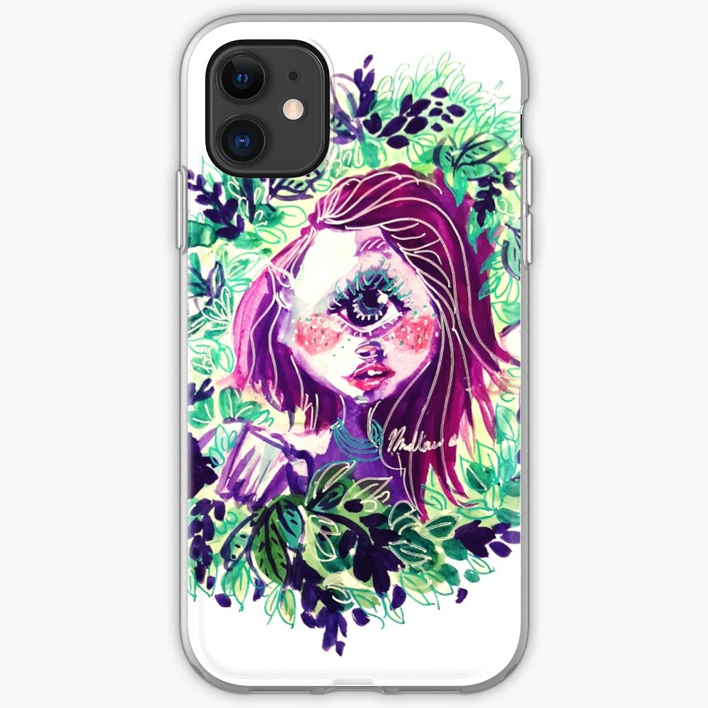 Eye in the Bushes iPhone Case & Cover