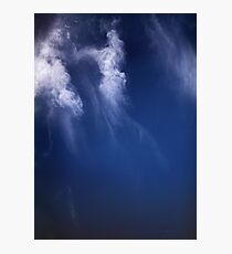 Clouds Over the Gulf of California, Mexico Satellite Image   Photographic Print