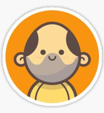 Mini Characters - Middle-Aged Man Sticker