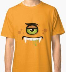 Cartoon expression monster Classic T-Shirt