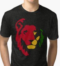 Camiseta de tejido mixto Reggae Rasta de León