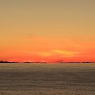 The Minch at Sunset by Maria Gaellman