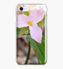 Pink Trillium iPhone Case/Skin