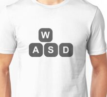 Video Game Addiction PC Gamers Keyboard Keys Controls Unisex T-Shirt