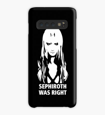 Sephiroth Was Right Case/Skin for Samsung Galaxy