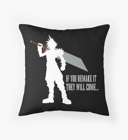 If you remake it... Throw Pillow