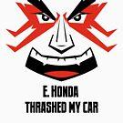 E. HONDA Thrashed My Car by omega-level