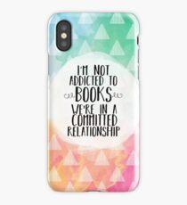 Committed Relationship (Watercolors) iPhone Case/Skin