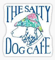 Salty Dog Cafe Sticker Sticker