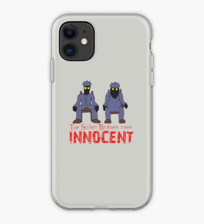 The Scoleri Brothers Were Innocent iPhone Case