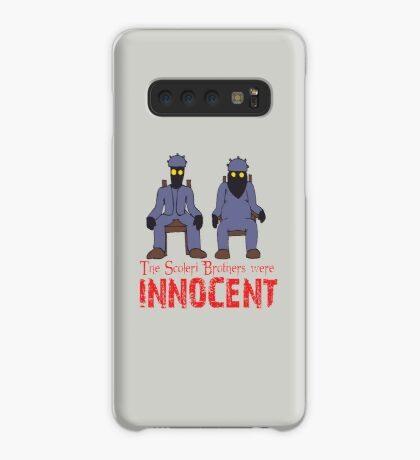 The Scoleri Brothers Were Innocent Case/Skin for Samsung Galaxy
