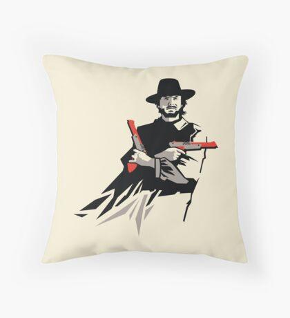 Light Gun Eastwood Throw Pillow