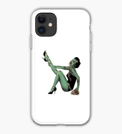 Zombie Chick (by Adam Miller) iPhone Case