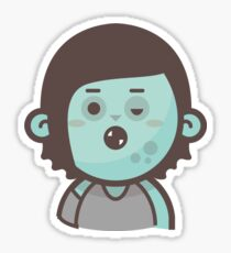 Mini Characters - Zombie Girl Sticker