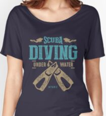 Scuba Diving Women's Relaxed Fit T-Shirt