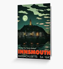 Greetings from Innsmouth, Mass Greeting Card