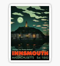 Greetings from Innsmouth, Mass Sticker