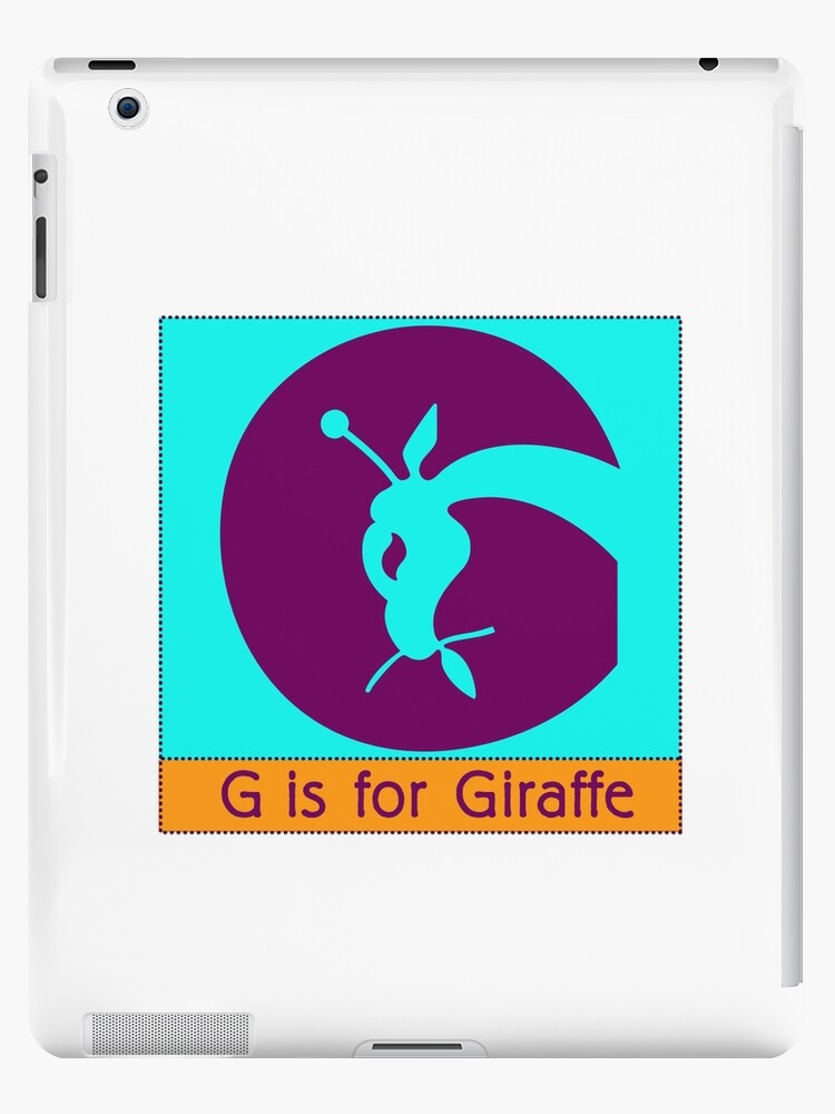 Giraffe Animal Alphabet by Zehda