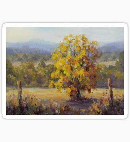 Shades of Autumn Sticker