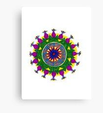 chakras mandala Canvas Print