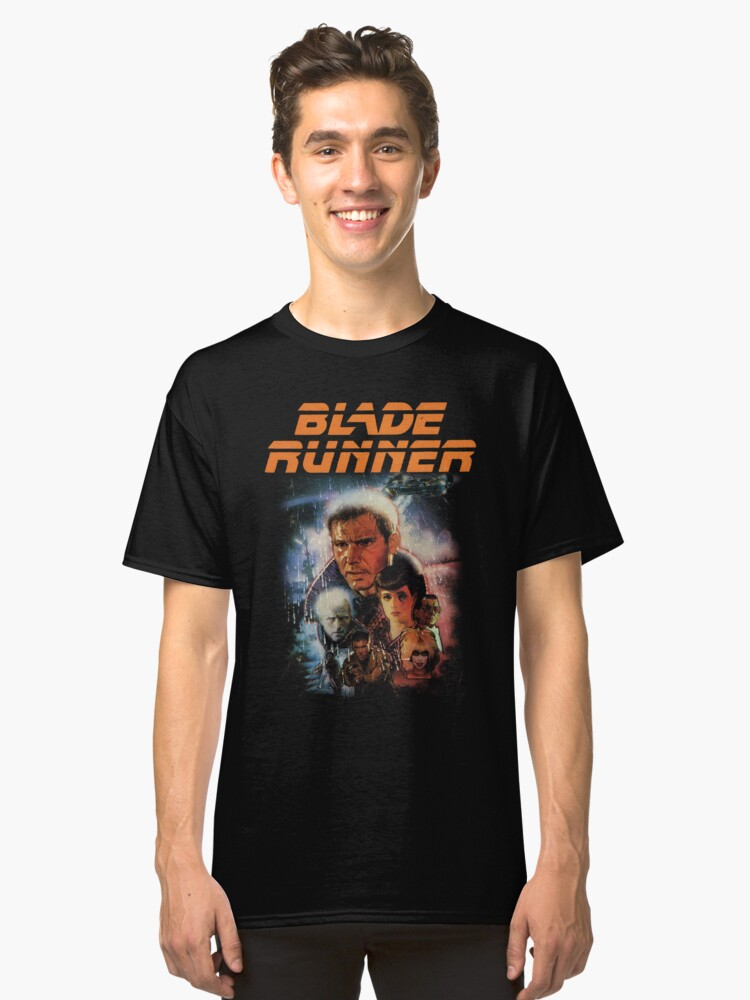 Vista alternativa de Camiseta clásica Camisa Blade Runner!