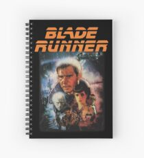 Blade Runner Shirt! Spiral Notebook