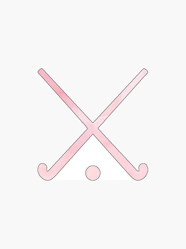 Feldhockey Pink von hcohen2000