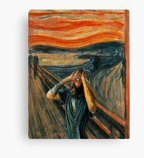 The Scream (Death Grips) Canvas Print