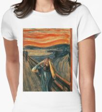 The Scream (Death Grips) Women's Fitted T-Shirt
