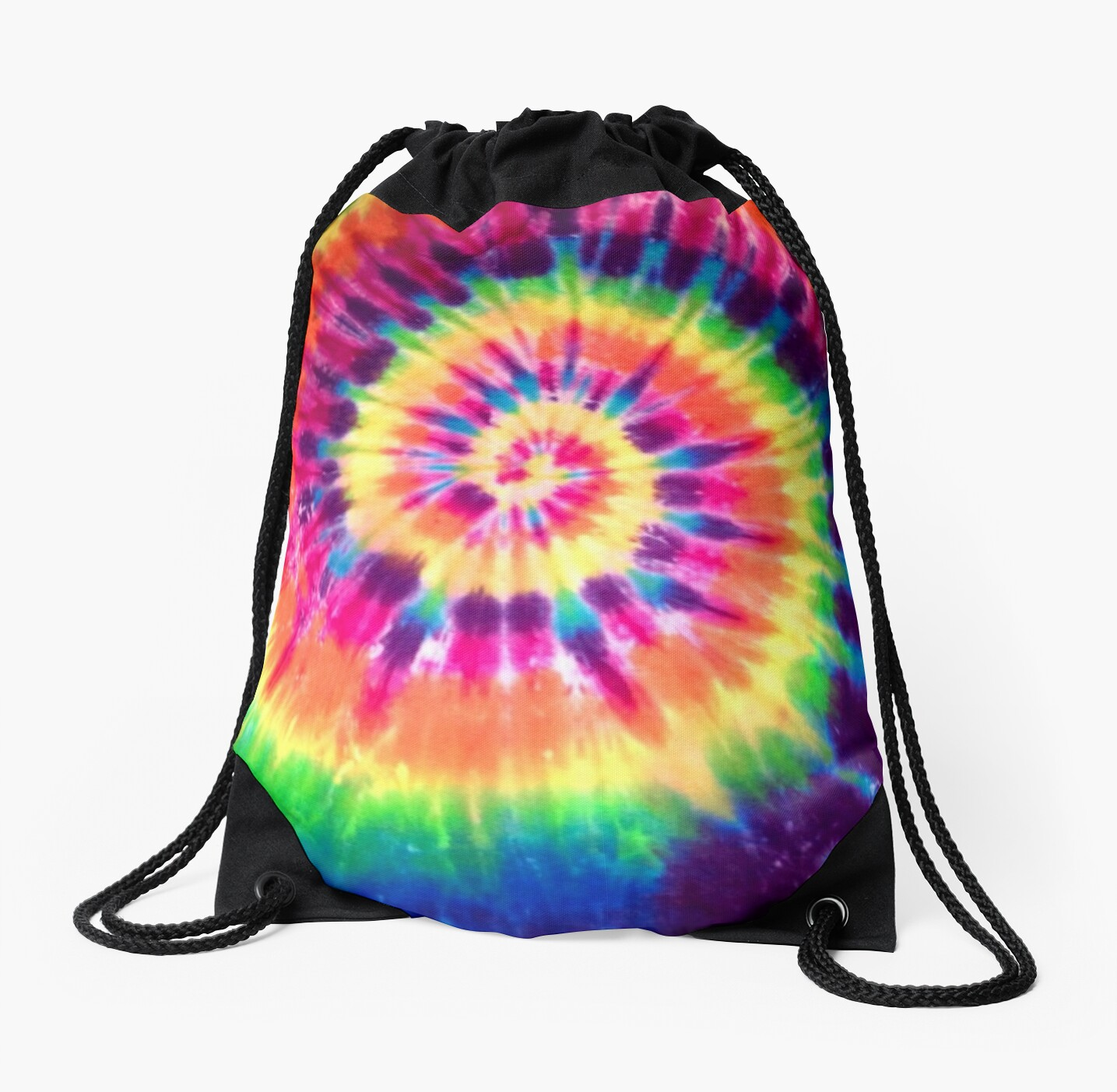 Case Ih Home Decor Quot Tie Dye Quot Drawstring Bags By Mad Designs Redbubble