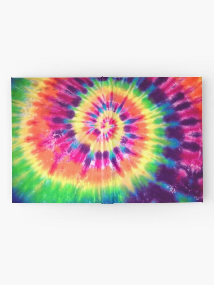 Alternate view of Tie Dye Hardcover Journal