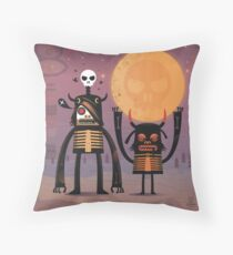 Moon catcher brothers  Throw Pillow