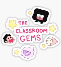 The Classroom Gems! // Steven Universe Crystal Gems Chibi Sticker