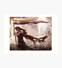 Commander of the Rainbow Art Print