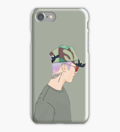Justin Bieber Drawing  iPhone Case/Skin