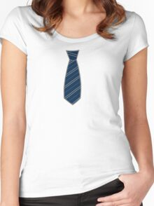 Raven House Tie Women's Fitted Scoop T-Shirt