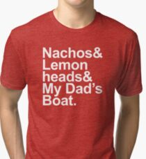 Boats 'N Hoes - A Lyrical Journey Tri-blend T-Shirt