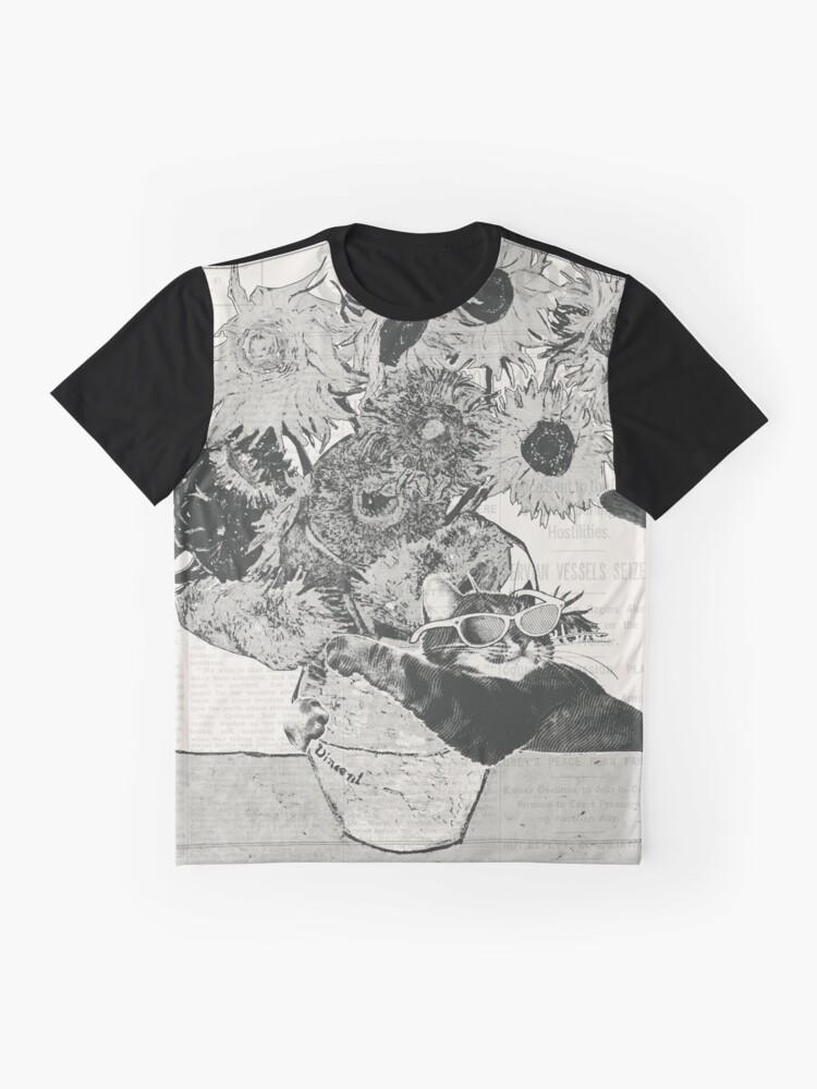 Alternative Ansicht von Sunflowers Grafik T-Shirt