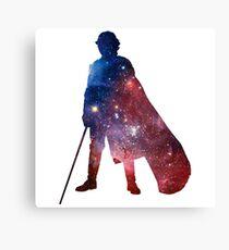 Anakin Skywalker Galaxy Canvas Print