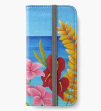 TROPICAL VIEW iPhone Wallet/Case/Skin