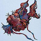 Antlerfish by Linespider5